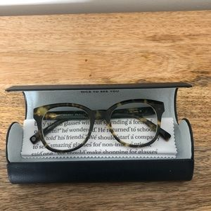 Warby Parker Mallory Frames Tortoise